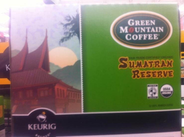 kopi Sumatra yang dijual di Walmart