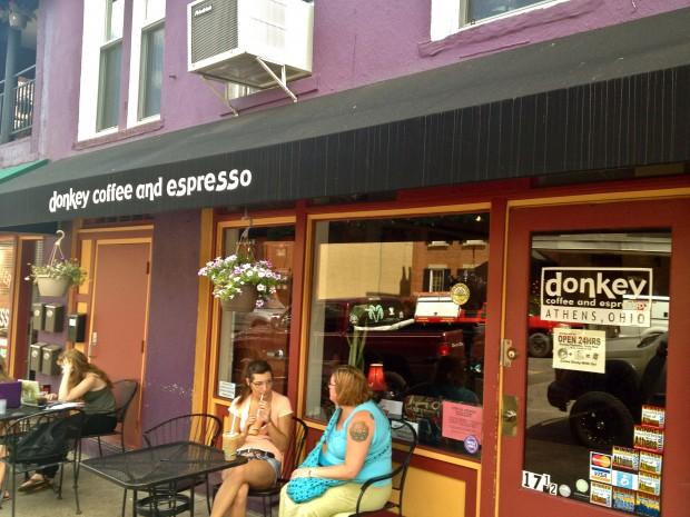 Kafe Donkey di Athens, Ohio