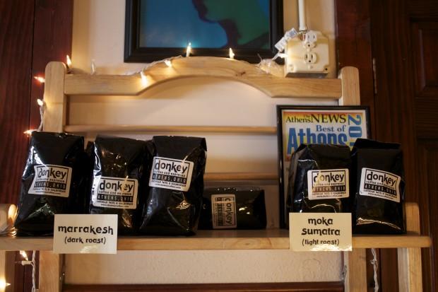kopi Sumatra di Kafe Donkey